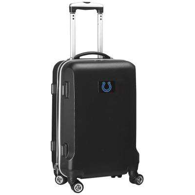 NFL Indianapolis Colts 21 in. Black Carry-On Hardcase Spinner Suitcase