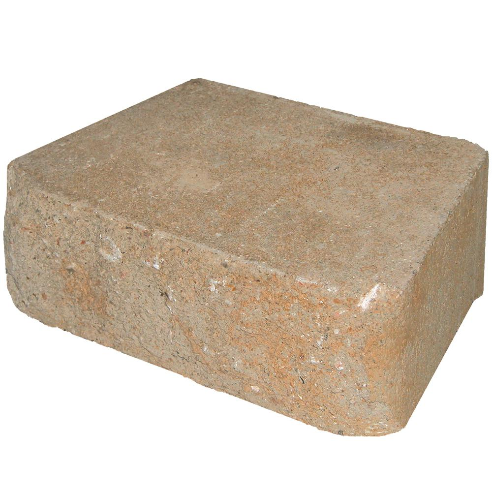 Pavestone RockWall Small 4 in. x 11.75 in. x 6.75 in. Rivertown Concrete Retaining Wall Block (144-Piece/46.6 sq. ft./Pallet)