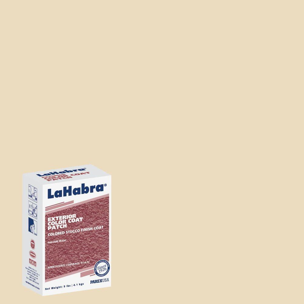 LaHabra 9 lb. Exterior Stucco Color Patch #17 Misty