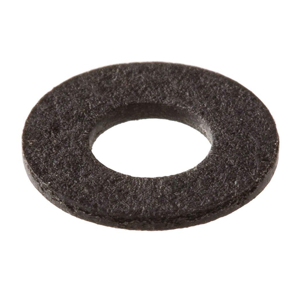 5/16 in. x 0.032 in. Black Fiber Washer (2-Piece per Pack)