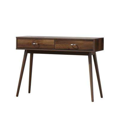 Montage Midcentury Walnut Writing Desk