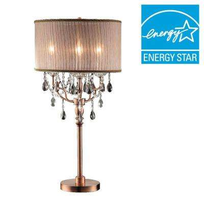 35 in. Rosie Crystal Table Lamp