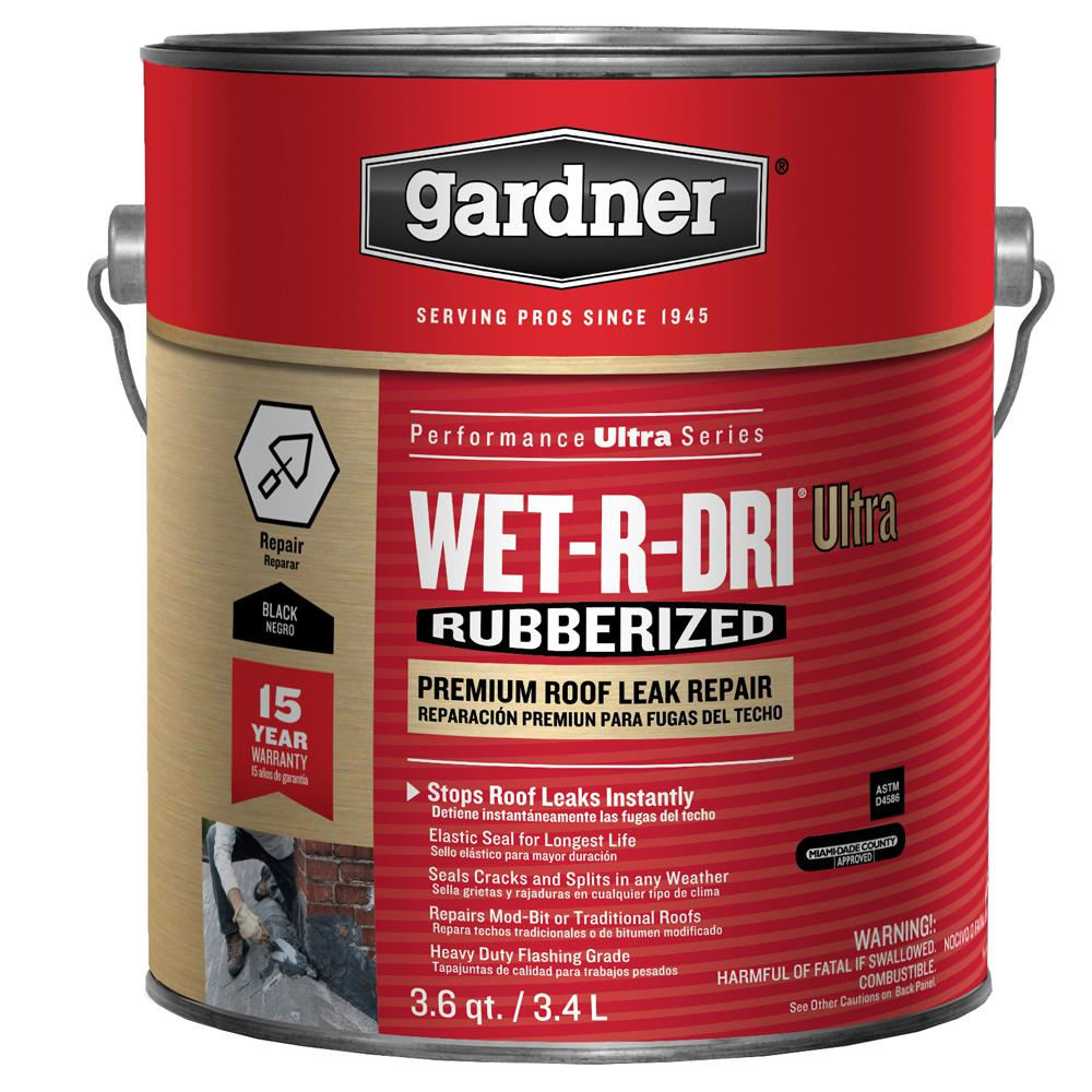 Gardner 3.6 Qt. Wet-R-Dri Ultra Rubberized Premium Roof