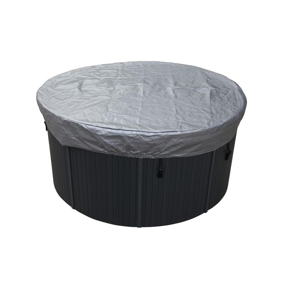 canadian spa company 7 ft round spa cover guard ka 10022 the home depot. Black Bedroom Furniture Sets. Home Design Ideas