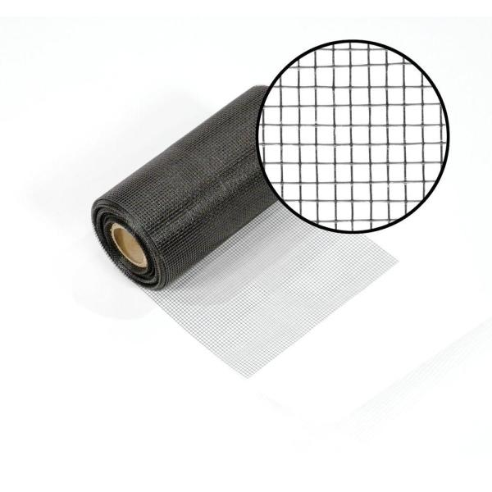 Phifer 72 in Charcoal Fiberglass Screen x 100 ft