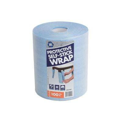 12 in. x 100 ft. Self-Stick Furniture Foam Wrap