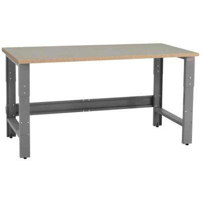 Roosevelt Series 2 ft. D x 6 ft. W Particle Board 1.1/8 in. T Top 1200 lbs. Capacity Workbench