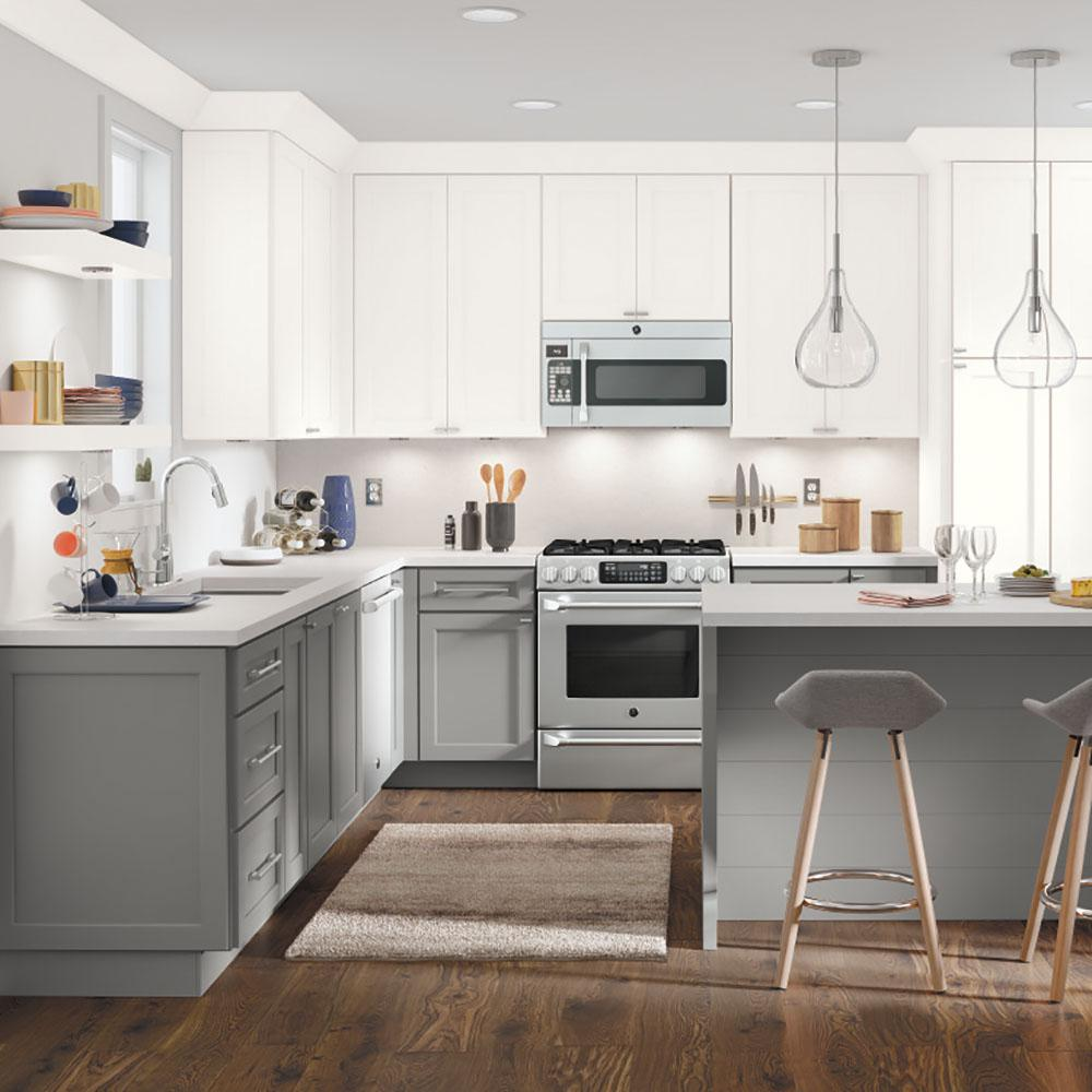 Thomasville Nouveau Custom Kitchen Cabinets Shown in ...