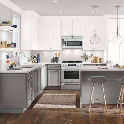 Nouveau Custom Kitchen Cabinets Shown in Transitional Style