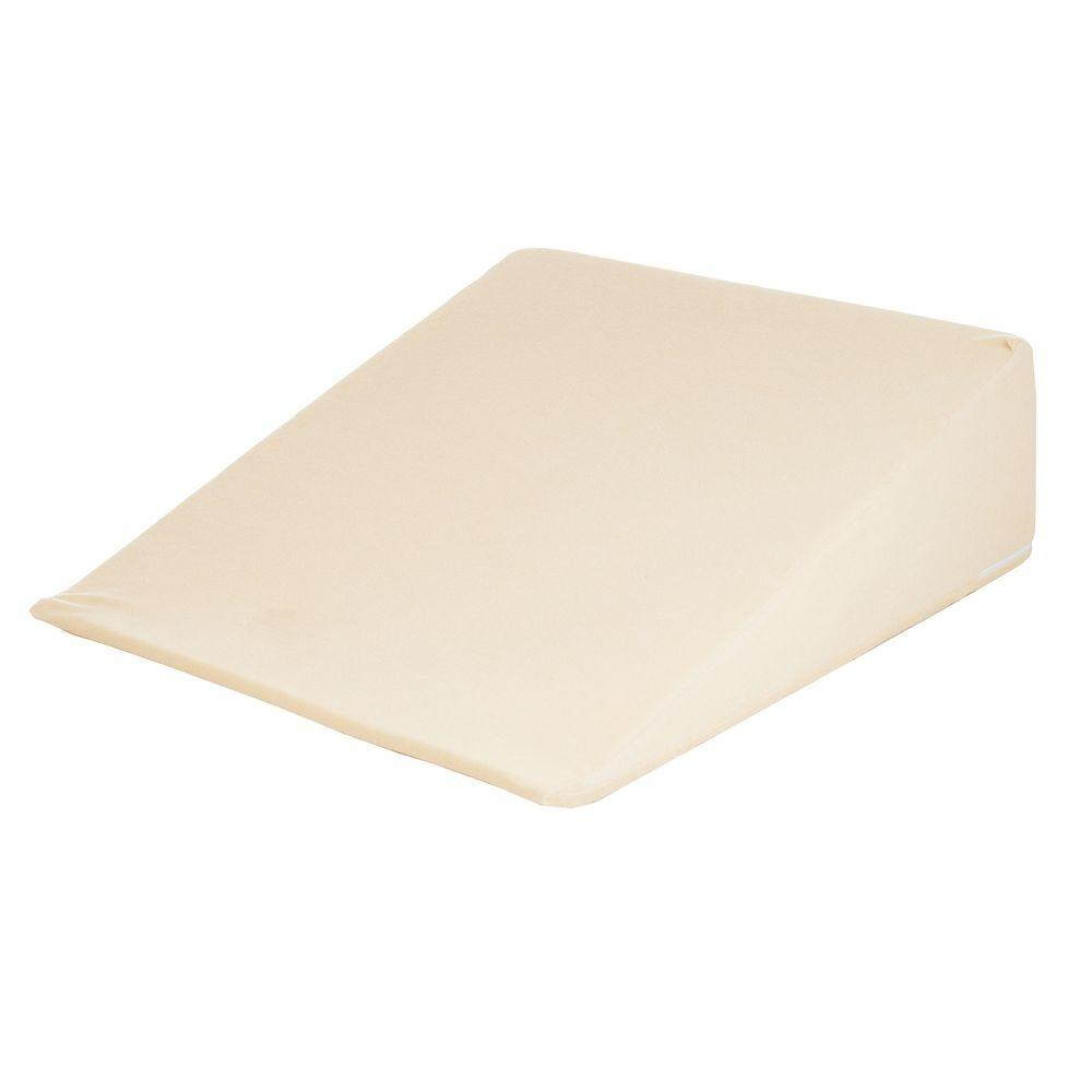 Remedy Natural Pedic Wedge Memory Foam Pillow With Cover