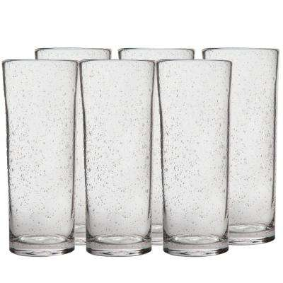 Bubble Glass 22 oz. Tall Bloody Mary Glass (6-Pack)