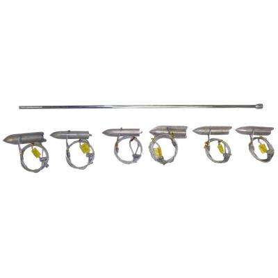 6-Piece Ground Anchor Kit