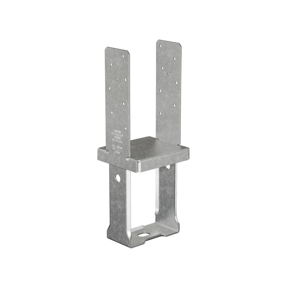 12-Gauge 6 in. x 6 in. Standoff Column Base with SDS