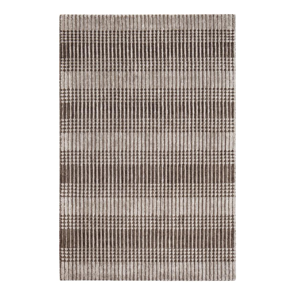 Hella Tufted Brown 5 ft. x 8 ft. Area Rug