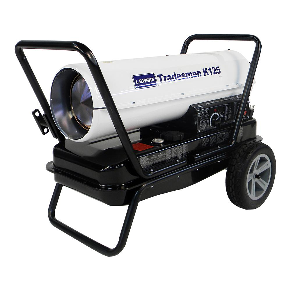 125,000 BTU Forced Air Portable Kerosene Heater