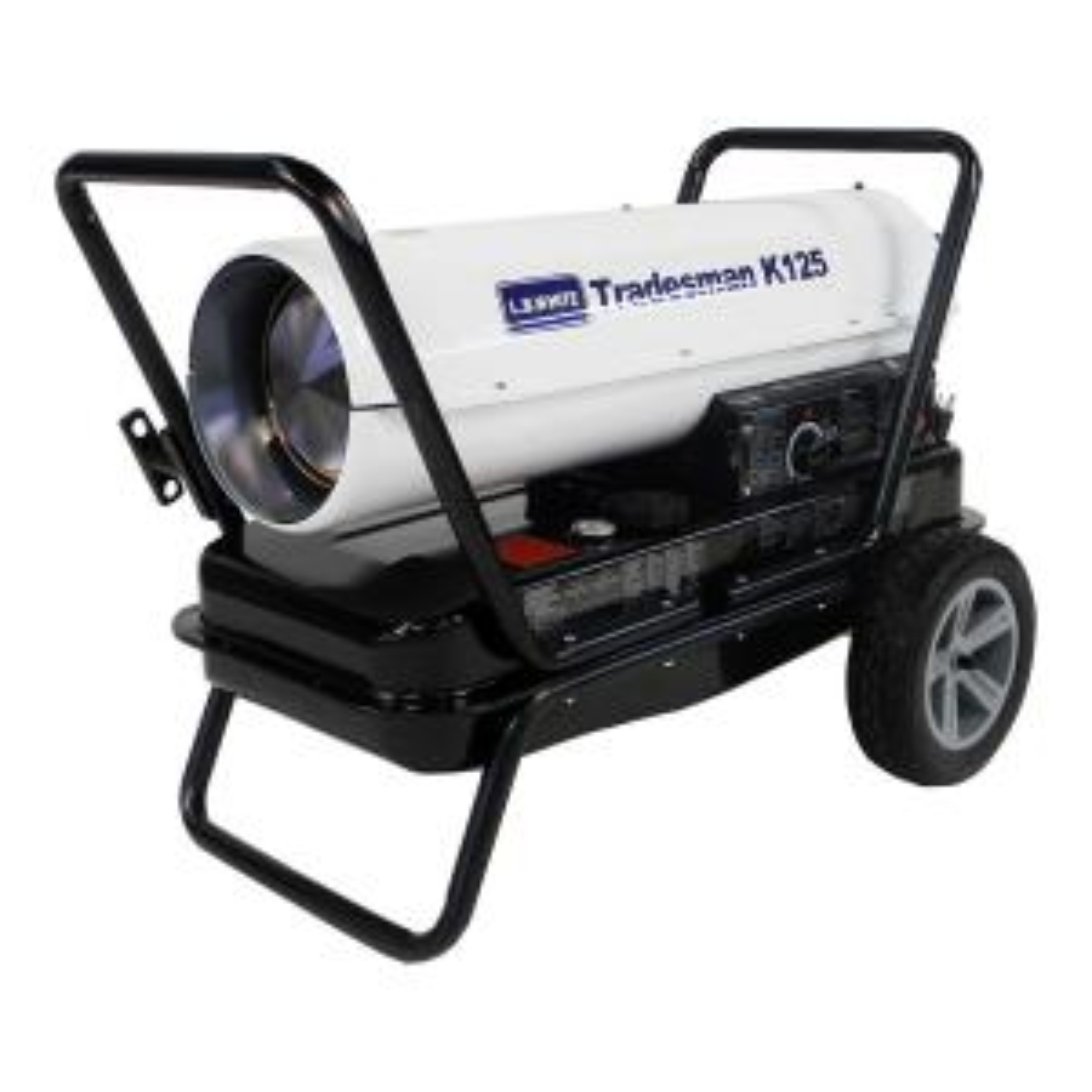 125,000 BTU Forced Air Portable Kerosene Heater