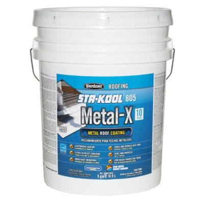 Karnak 5-Gal  Non-Fibered Asphalt Roof Coating-112-5 - Bqiqi