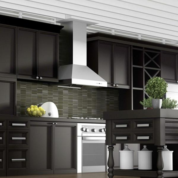 Zline Kitchen And Bath Zline 48 In Professional Wall Mount Range Hood In Stainless Steel 697 48 697 48 The Home Depot