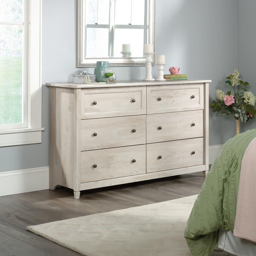 Edge Water 6-Drawer Chalked Chestnut Dresser