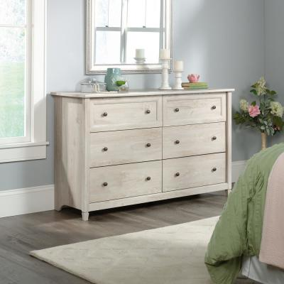 Edge Water 6-Drawer Chalked Chestnut Dresser