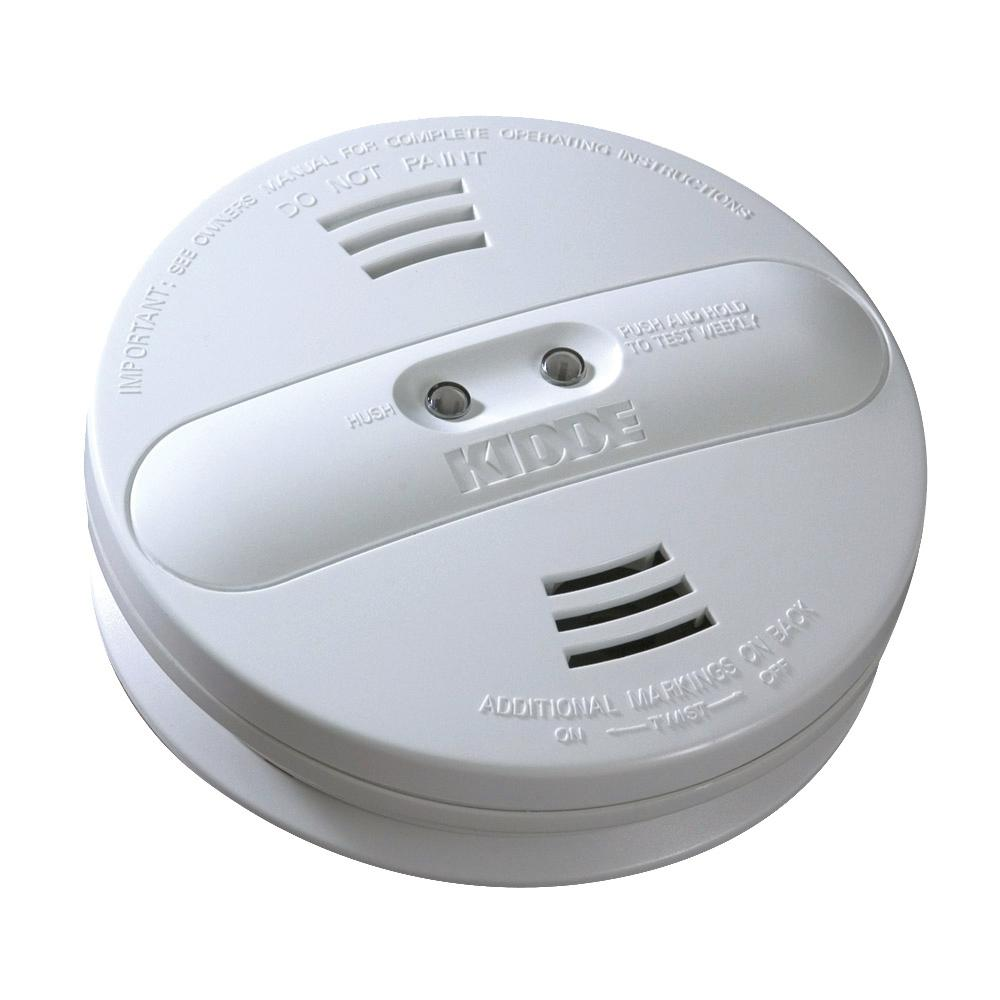 kidde hardwire smoke detector with 9v battery backup with adapters