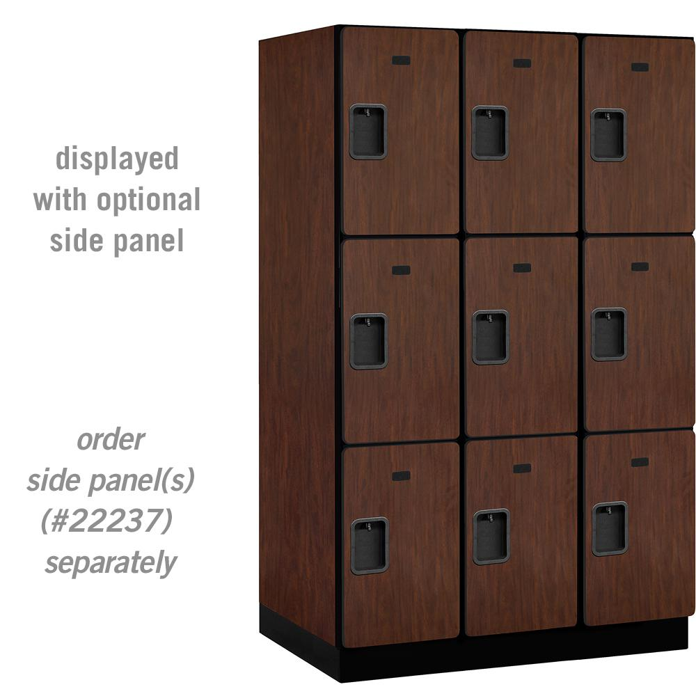 23000 Series Triple Tier 24 in. D 9 Compartments Extra Wide