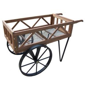 Click here to buy  Flower Garden Wagon on Wheels.