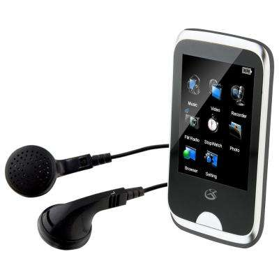 Portable MP3 Touchscreen Player