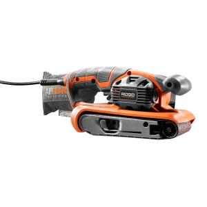 Ridgid 3 inch x 18 inch Heavy Duty Variable Speed Belt Sander with AIRGUARD Technology by RIDGID