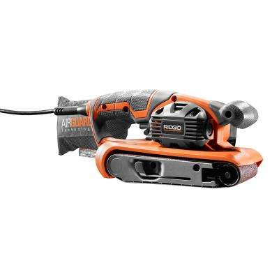6.5 Amp Corded 3 in. x 18 in. Heavy-Duty Variable Speed Belt Sander with AIRGUARD Technology