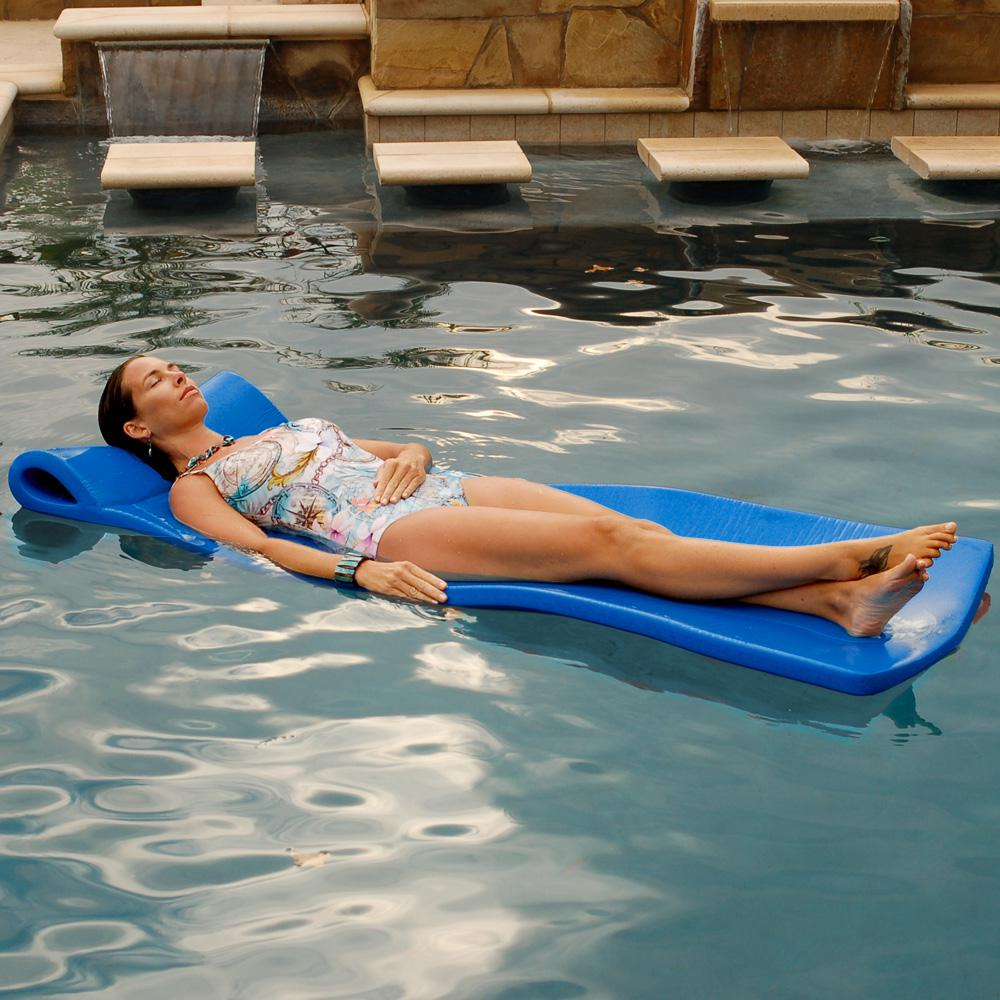 Blue Foam Pool Float