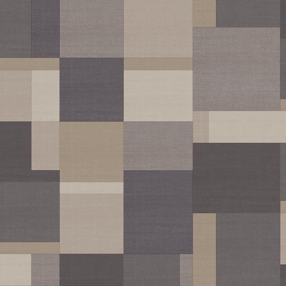 Arthouse Cubico Multi Charcoal Non-Woven Wallpaper