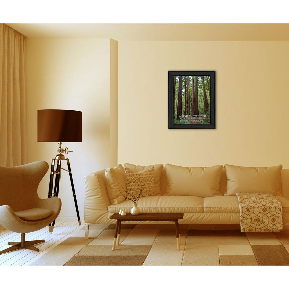 Beautiful Framed Medallion Wall Art Vignette - Wall Art Ideas ...