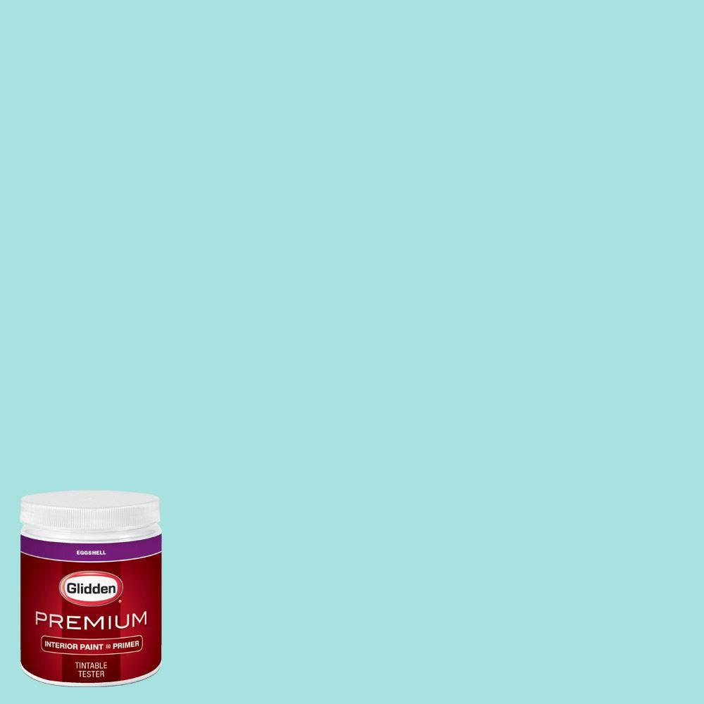 Glidden premium 8 oz hdgb15u sea breeze teal eggshell - Glidden premium exterior paint review ...