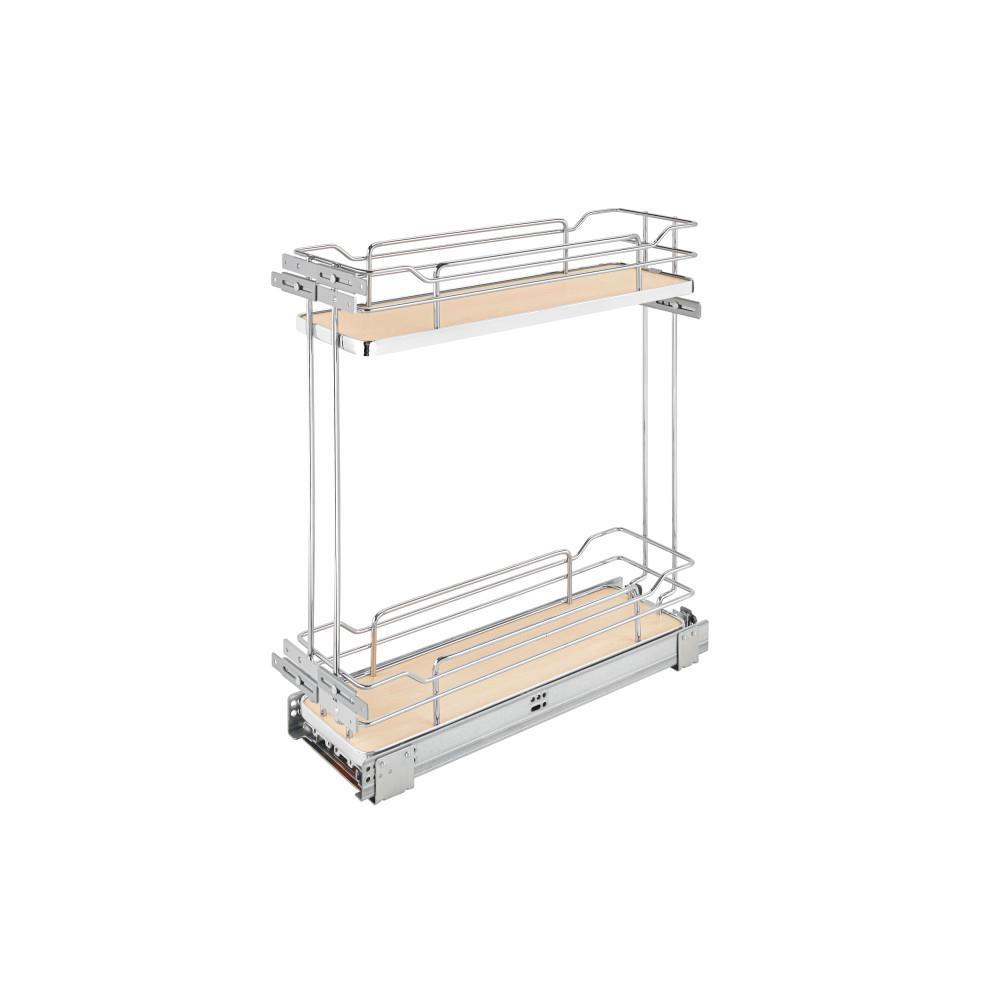2-Tier Wire Organizer with Blum Soft-Close