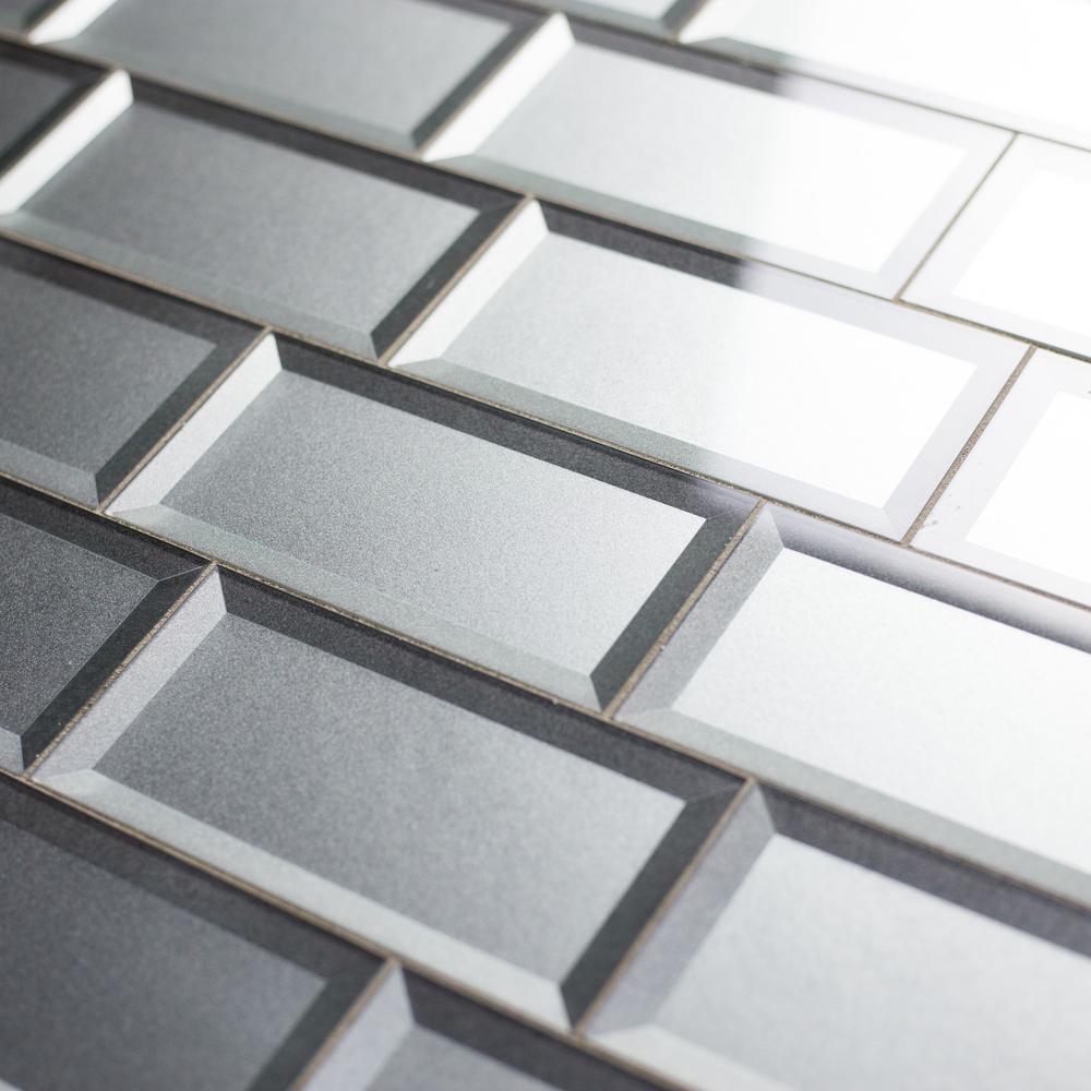 Abolos Forever Eternal Silver Inner Beveled Subway 3 In X