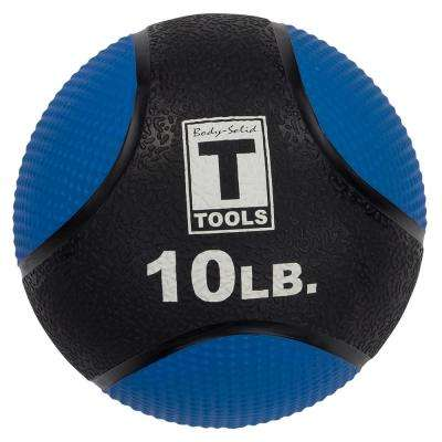 BSTMB10 Medicine Ball - 10 lb. Blue/Black