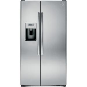 Click here to buy GE Profile 36 inch W 28.4 cu. ft. Side by Side Refrigerator in Stainless Steel by GE.