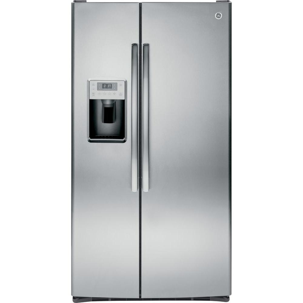 GE Profile 28.4 Cu. Ft. Side By Side Refrigerator In