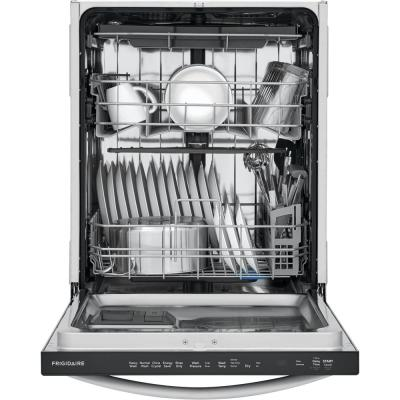 Top Control Built-in Tall Tub Dishwasher in Stainless Steel with Stainless Steel Tub and 3rd Level Rack, 49 dBA