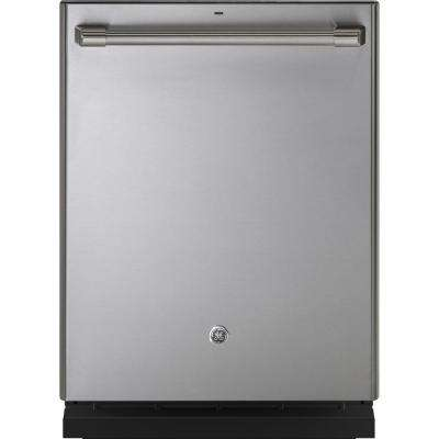 24 in. Top Control Dishwasher in Stainless Steel with Stainless Steel Tall Tub and Steam Cleaning, 45 dBA
