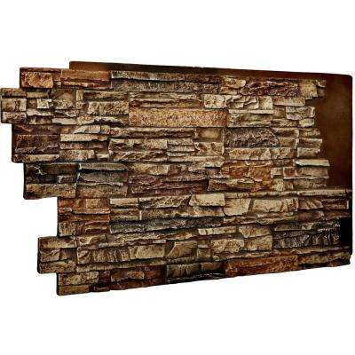 1-1/2 in. x 48 in. x 25 in. Limestone Urethane Stacked Stone Wall Panel