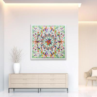 """""""Hallucination II"""" High Resolution Graphic Art Print on Wrapped Canvas Wall Art"""