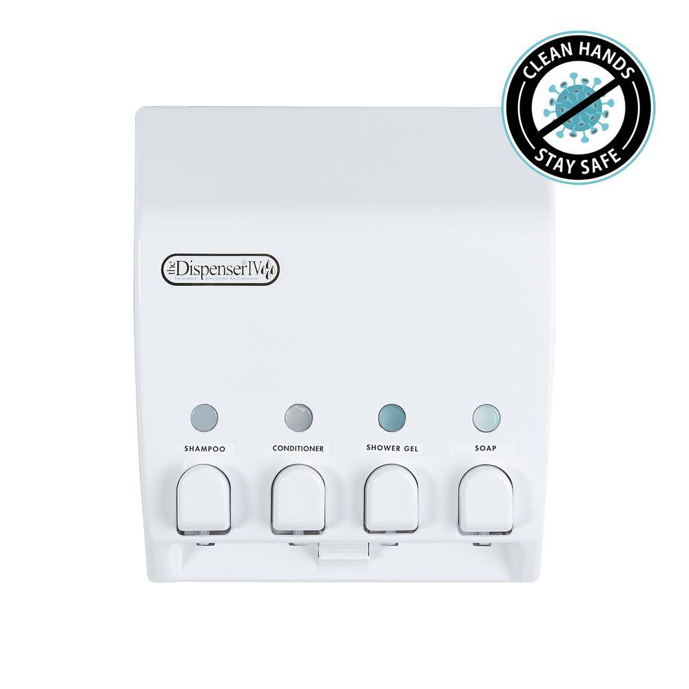 Classic 4-Dispenser in White