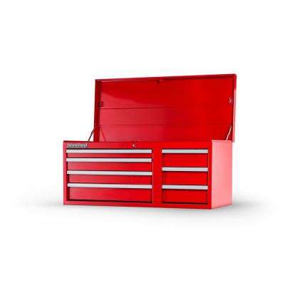 Workshop Series 42 in. 7-Drawer Top Chest in Red