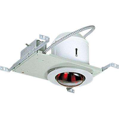 8.375 in. Satin Aluminum Recessed Fixture