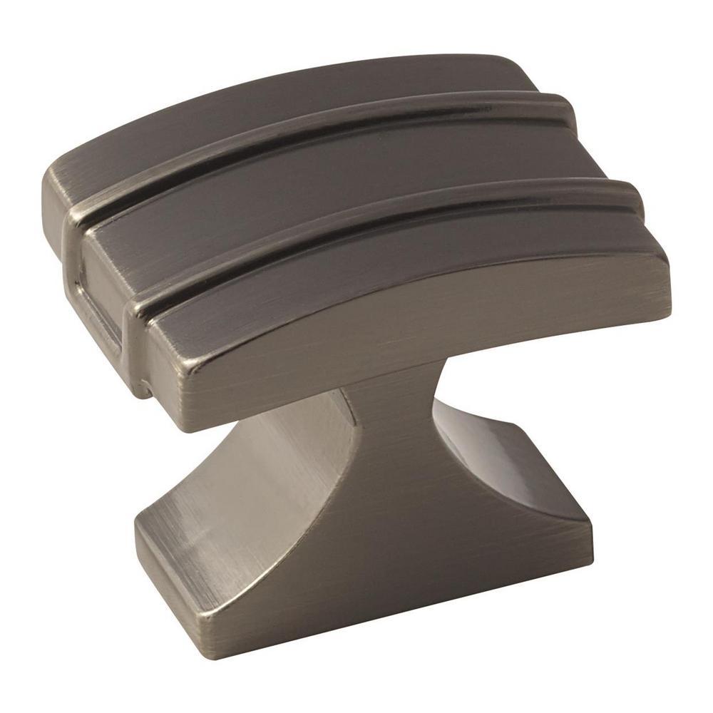Davenport 1-1/4 in. (32 mm) Gunmetal Cabinet Knob