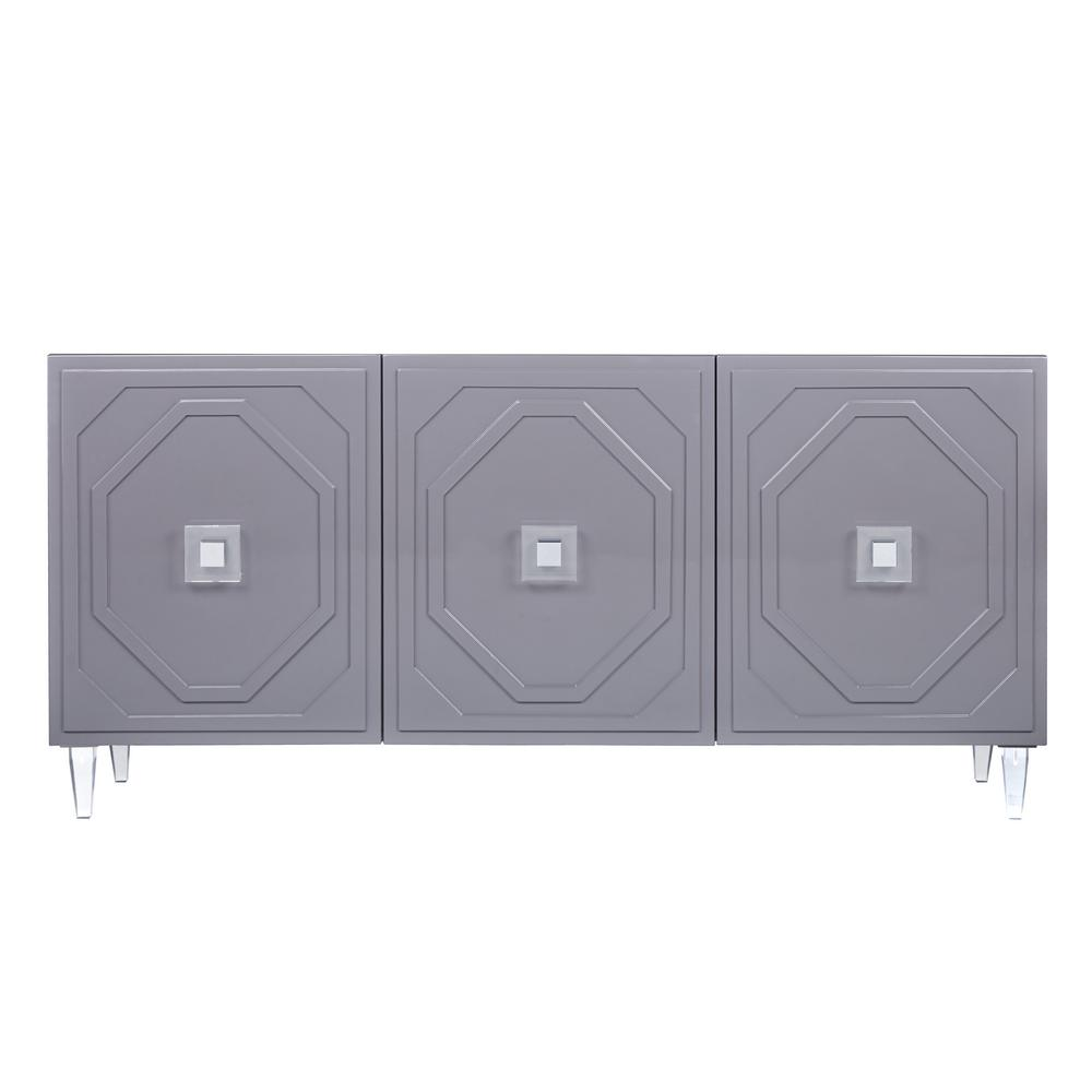 Tov Grey Lacquer Buffet Product Image