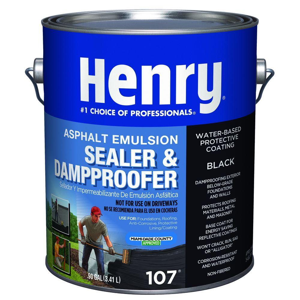 0.90 Gal. 107 Asphalt Emulsion Sealer and Dampproofer