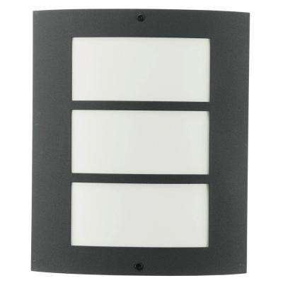 City 1-Light Anthracite Wall Light